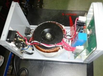 تولید انواع استابلایزر( ترانس تثبیت کننده ولتاژ- Stabilizer