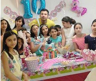برگزاری جشن تولد کودک توسط عمو آیدین کرج و تهران